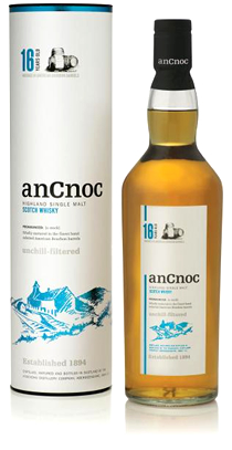 anCnoc 16 Years Old bottle & tube