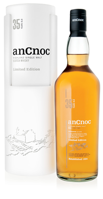 anCnoc 35 Years Old bottle & tube