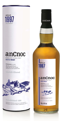anCnoc single malt Scotch whisky Vintage 1997