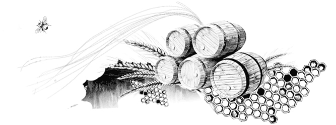 anCnoc illustration showing whisky barrels