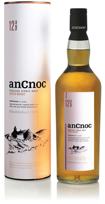 anCnoc 12 Years Old bottle & tube