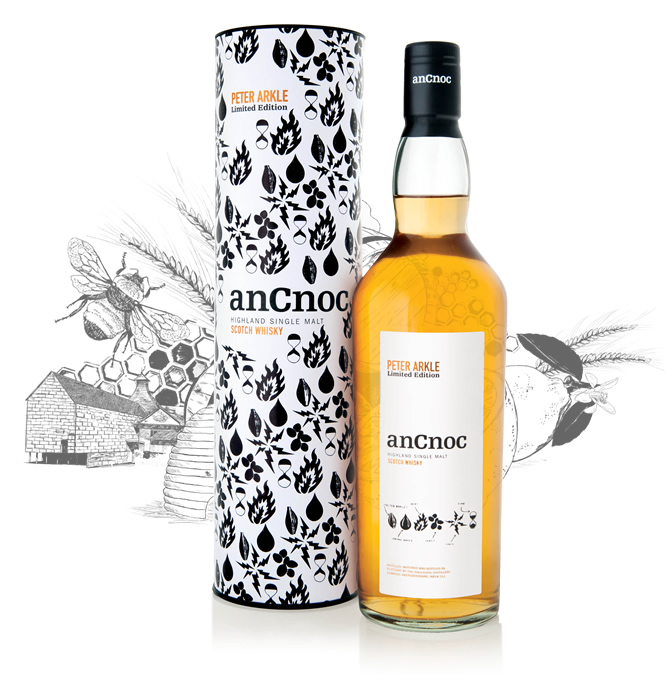 anCnoc single malt Scotch whisky Peter Arkle Ingredients