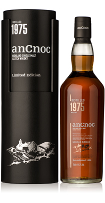 anCnoc Vintage 1975 bottle & tube