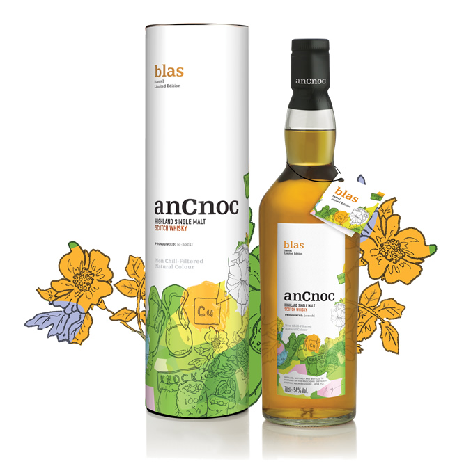 anCnoc Blas bottle and tube
