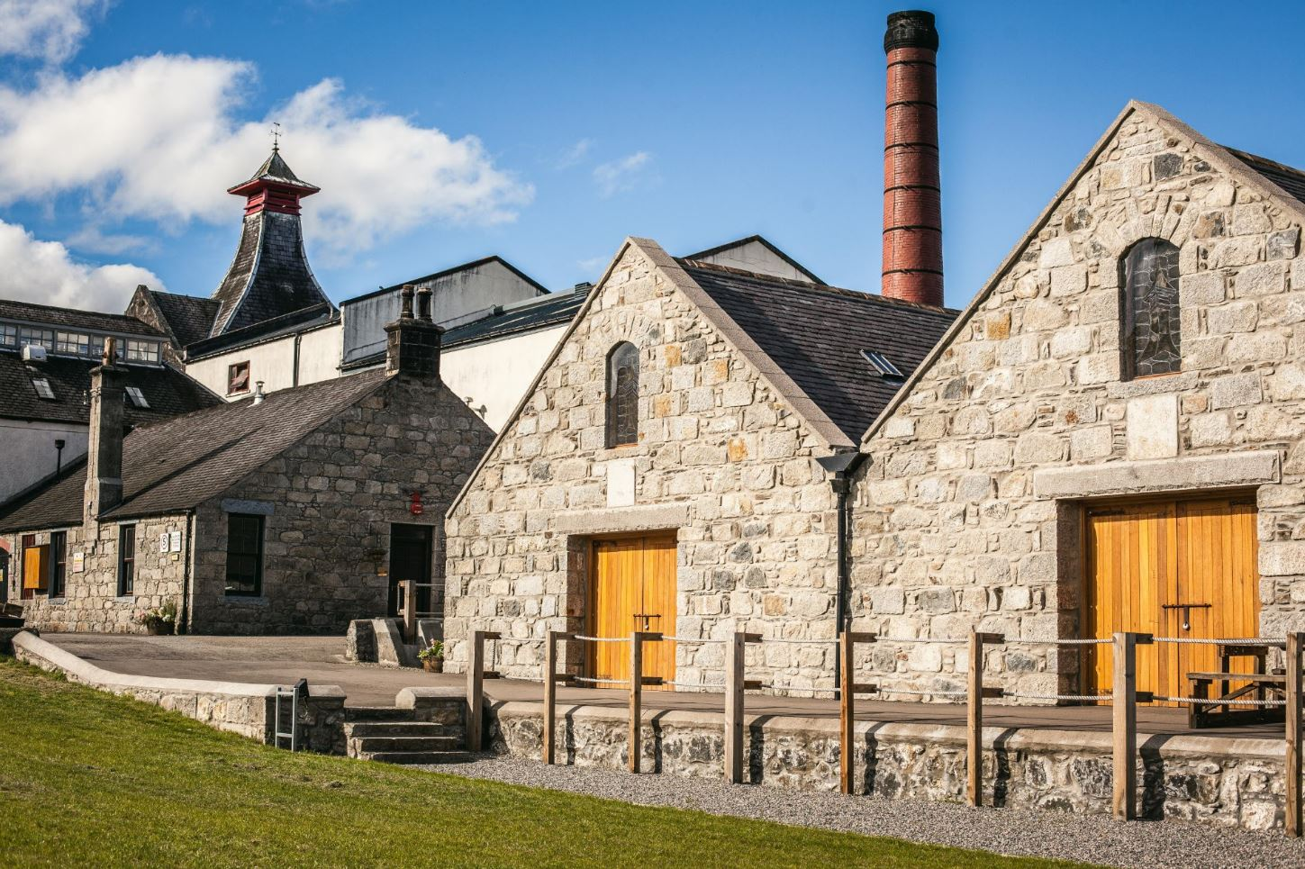 Knockdhu Distillery Dunnage Warehouses