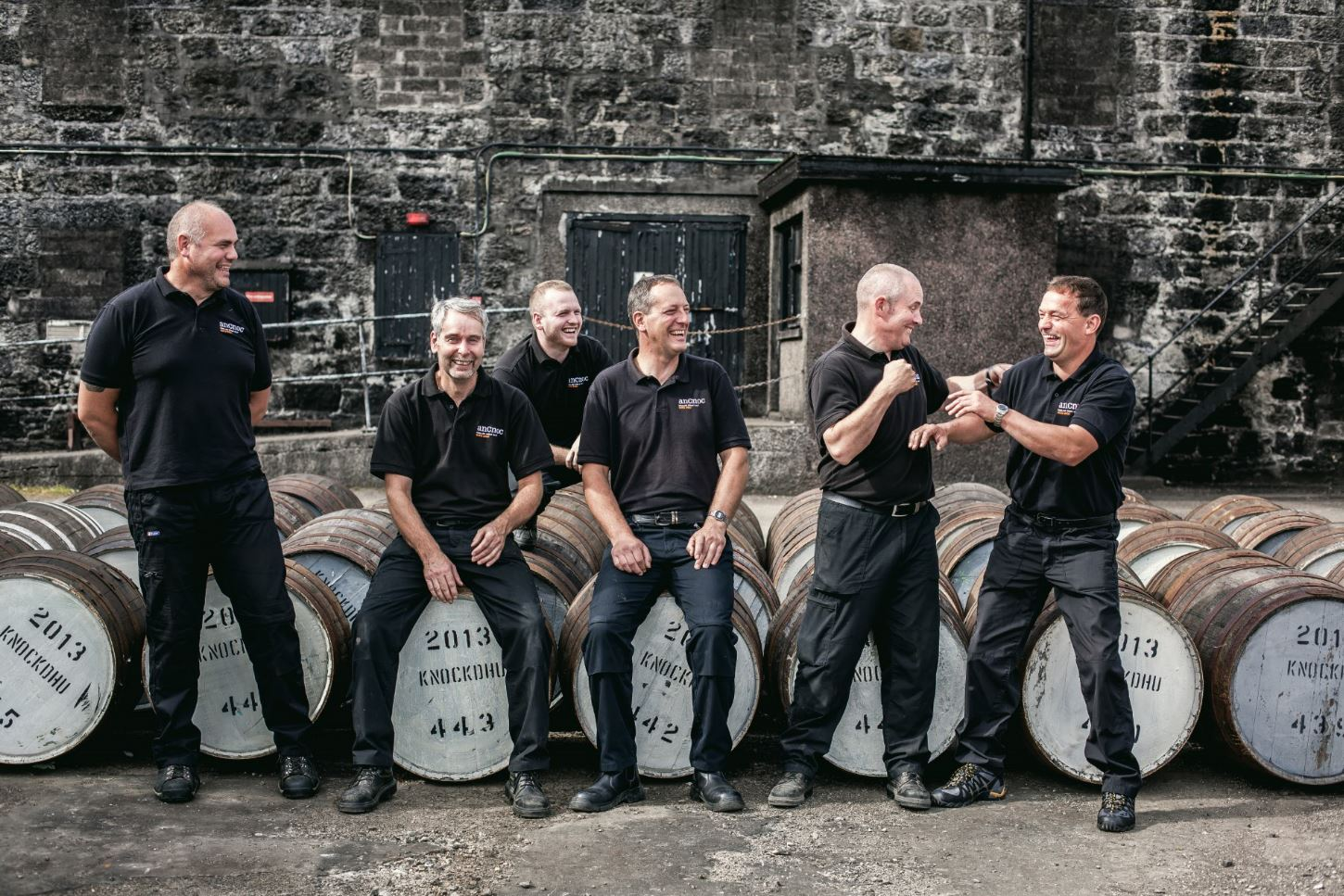 Knockdhu Distillery Team