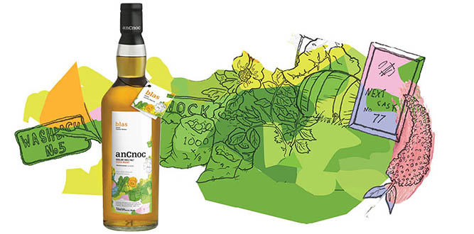 anCnoc Blas with Patrick Grant illustration