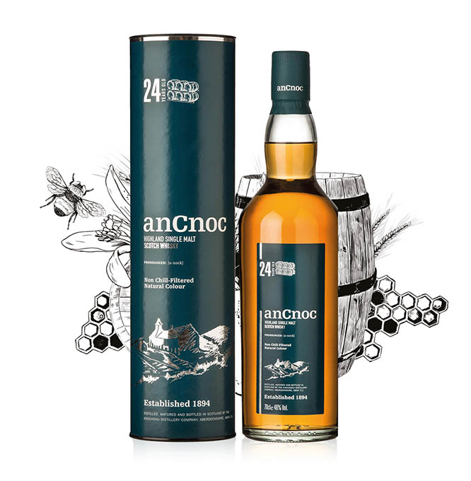 anCnoc 24 Years Old bottle & tube