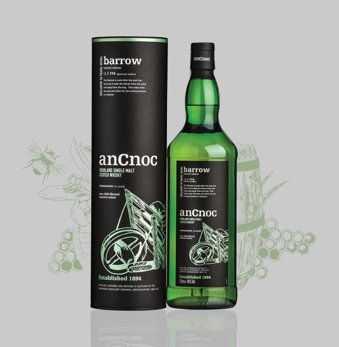 anCnoc Barrow bottle & tube with illustration