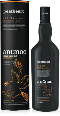 anCnoc Peatheart bottle & tube