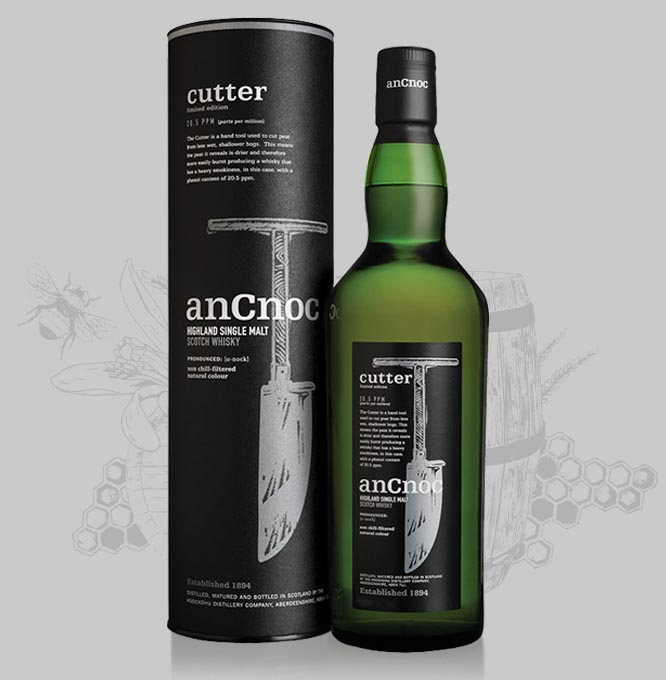 anCnoc Cutter bottle and tube with illustration
