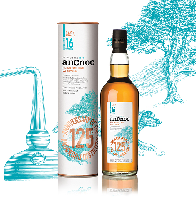 anCnoc 16 years old limited edition.
